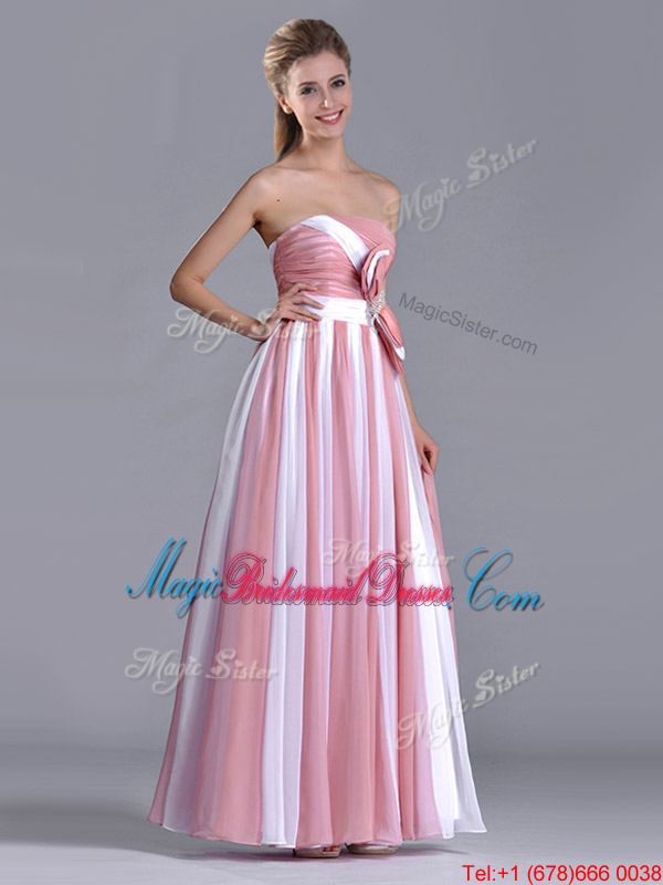 Hot pink and white bridesmaid dresses wedding dresses asian for White and hot pink wedding dress