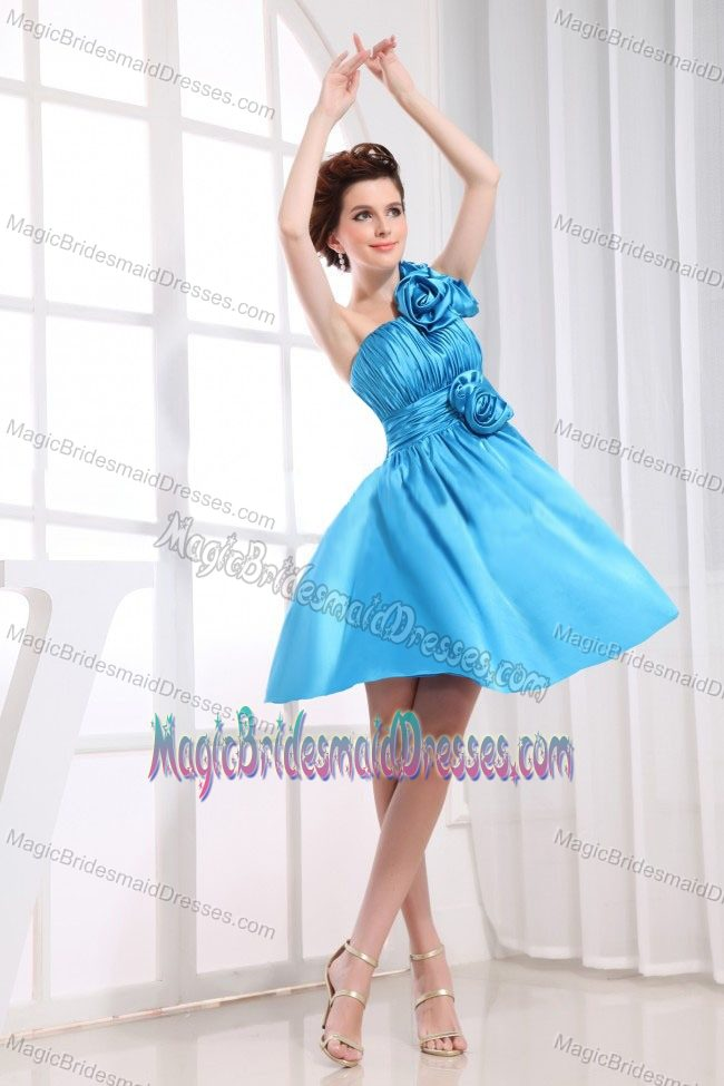 Bridal Gowns Vanderbijlpark : Aqua blue short flowers for bridesmaid dresses in vanderbijlpark