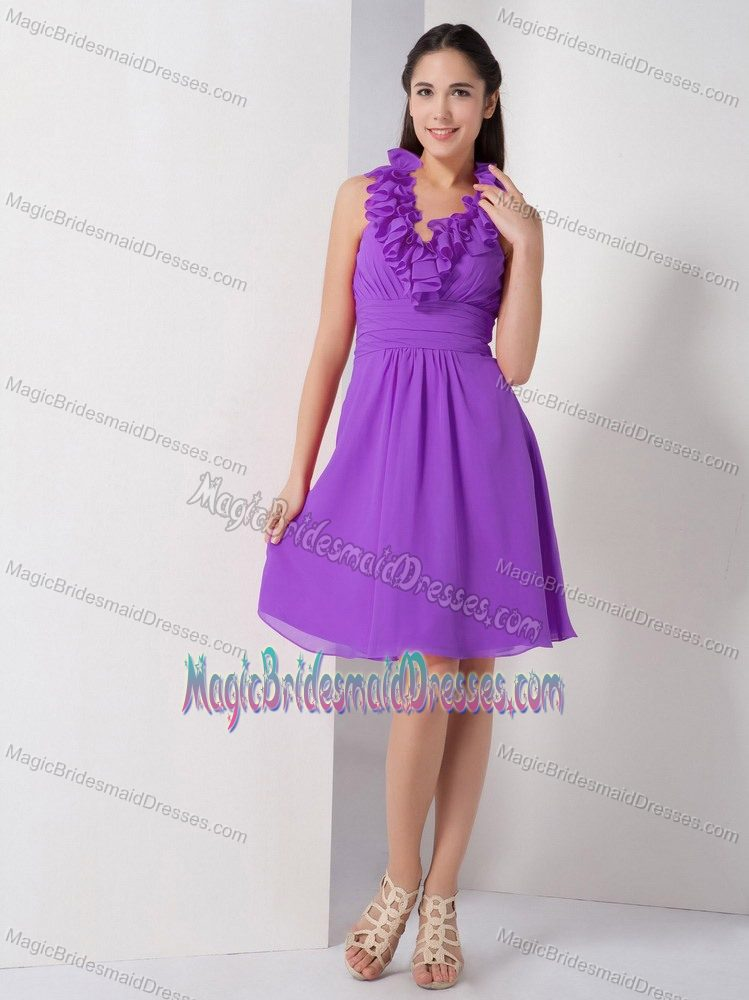 A-line Halter Ruches Bridesmaid Dress in Wynberg South Africa