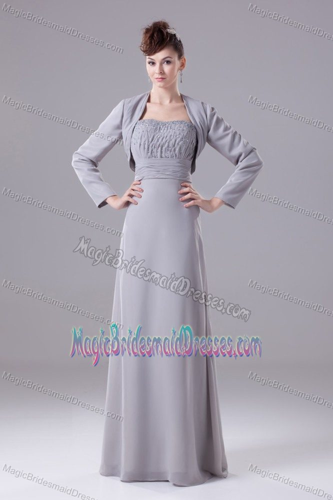 Plus Size Gray Formal Dresses 89