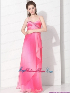 Gorgeous 2015 Spaghetti Straps Bridesmaid Dress in Multi Color