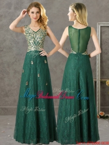 Dark Green Bridesmaid Dress - Ocodea.com
