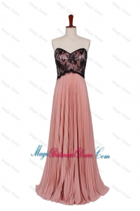 2016 Fall Empire Sweetheart Bridesmaid Dresses with Lace and Paillette