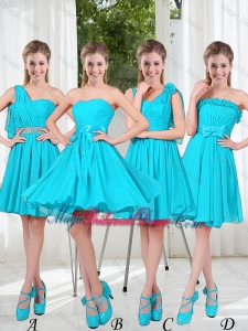 Informal Bridesmaid Dress with Ruching for 2016