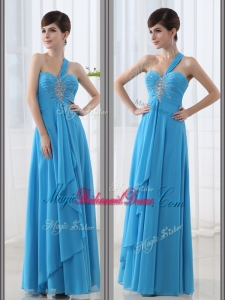 Beautiful Empire One Shoulder Beading Perfect Bridesmaid Dresses for 2016