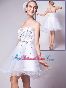 2016 Cheap Sweetheart Beading Short Popular Bridesmaid Dresses for Cocktail