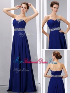 Romantic Empire Sweetheart Pretty Bridesmaid Dresses with Beading