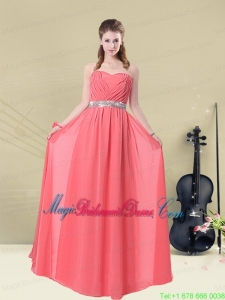 Brand New Strapless Beaded Bridesmaid Dresses Floor Length