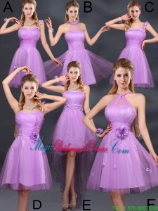 The Super Hot Lilac A Line Bridesmaid Dresses
