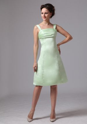 Straps Knee-length for Customize Apple Green Dresses for Bridesmaid in Midrand