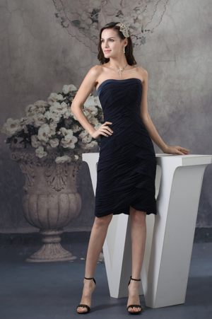 Brand New Black Bridesmaids Dresses in Bedfordview with Pleats Accent