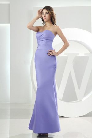 Mermaid Sweetheart Lilac Bridesmaid Dress in Knysna South Africa