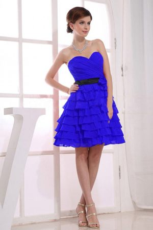 Malgas South Africa Sweetheart Ruffle Royal Blue Bridesmaid Dress