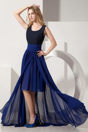 Navy Blue Scoop High-low Bridesmaid Dress in Delmas South Africa