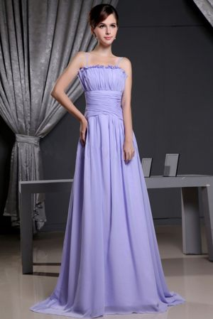 Estcourt South Africa Straps Lilac Ruches Empire Bridesmaid Dress