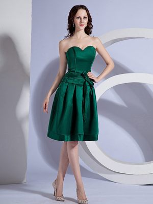 George South Africa Green Sweetheart Bow A-line Bridesmaid Dress