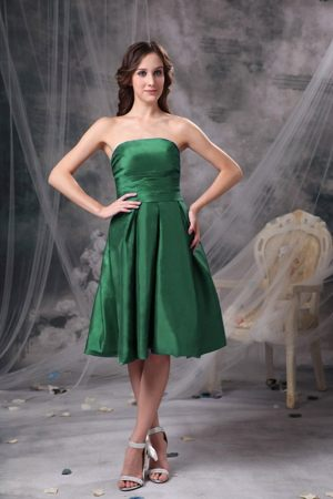 Green A-line Strapless Bridesmaid Dress in George South Africa