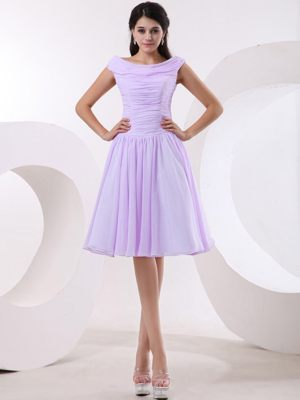 Princess Bateau Lavender Junior Bridesmaid Dress in Florissant