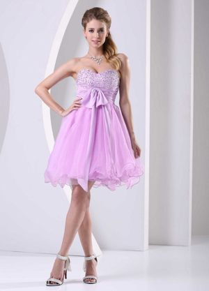 Binghamton New York Sweetheart Beading Sash Bridesmaid Dresses