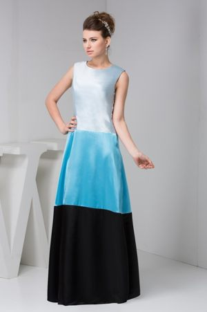 Bateau Sleeveless Dresses for Bridesmaid for Weddings in Multi-Colors